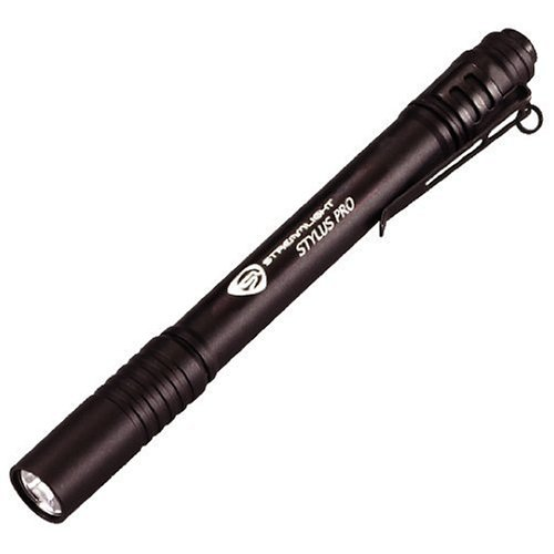 Stylus Pro 360 with (2) AAA Alkaline batteries, nylon holster and lanyard