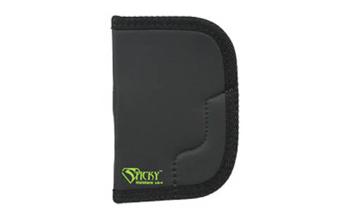 Sticky Holsters LG-4 Holster for Large Frame Revolvers Ambidextrous Black