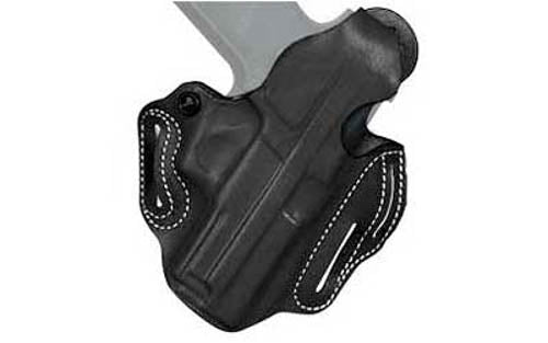 DeSantis Thumb Break Scabbard Belt Holster Ruger LCR Right Hand Leather Black Fi