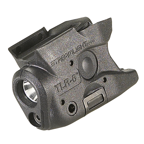 TLR-6  S&W M&P Shield with white LED and red laser. Black