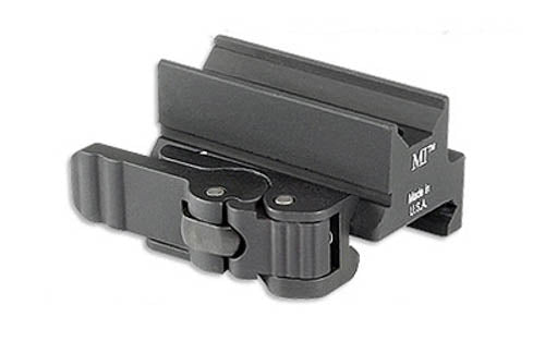 Midwest Industries Quick Detach Optic Mount Trijicon Mini ACOG Aluminum Matte Bl