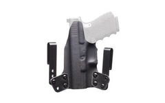 BlackPoint Mini WING IWB Holster For GLOCK 42 Right Hand Leather/Kydex Hybrid Bl