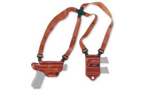 "Galco Miami Classic II 1911 5"" Shoulder Holster System Right Hand Leather Tan MC"