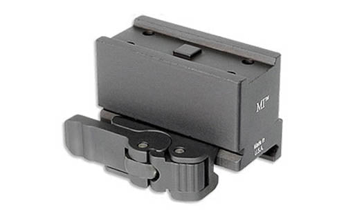 Midwest Industries Quick Detach Optic Mount For Aimpoint T1/H1/T2 Lower 1/3 Alum