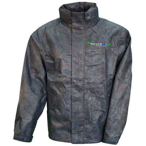 Envirofit Solid Rain Jacket Black XX-Large