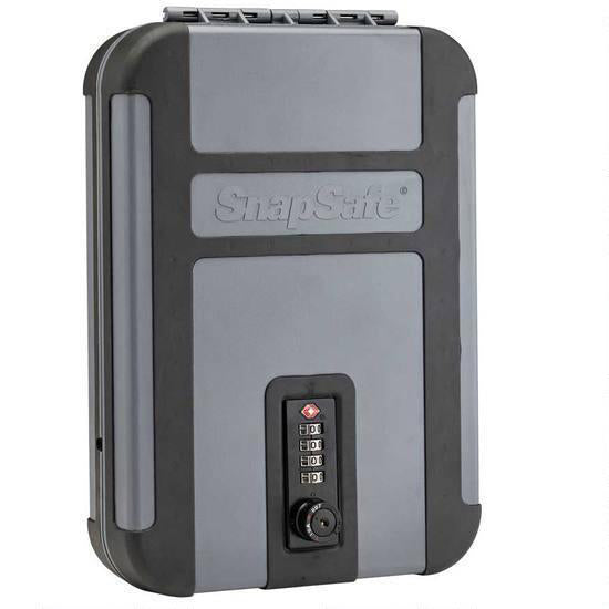 SNAPSAFE TREKLITE LOCK BOX WITH TSA COMBINATION LOCK XL POLYCARBONATE