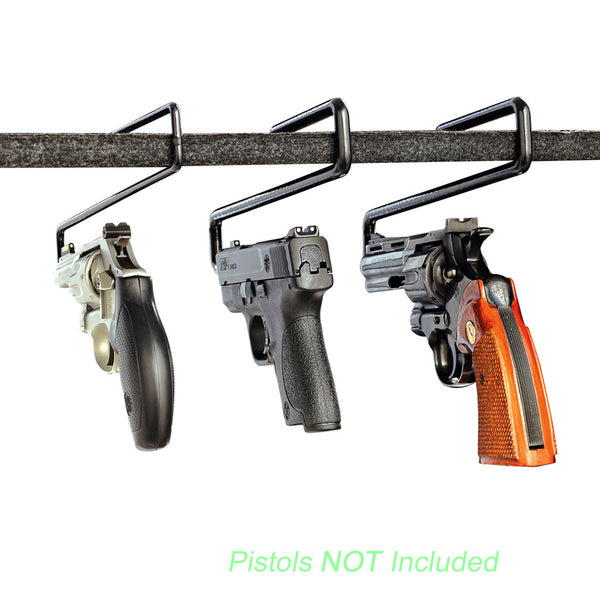 Snapsafe Handgun Hangers 6-Pack Mixed (2 each for 44 Cal. 9mm/38 Cal. 22 Cal.)