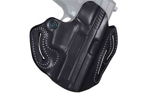 DeSantis Gunhide Speed Scabbard Walther PPQ Belt Holster Right Hand Leather Blac