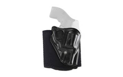 Galco Ankle Glove GLOCK 43 Ankle Holster Leather/Neoprene Right Hand Black AG800