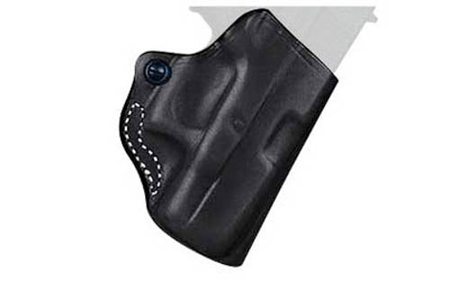 DeSantis 019 Mini Scabbard SCCY CPX 1 and 2 Belt Holster Right Hand Leather Blac