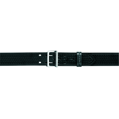 Model 87 Duty Belt 2.25  Suede Lined Finish: Plain Waist: 24  Waist Buckle: Nickel Buckle