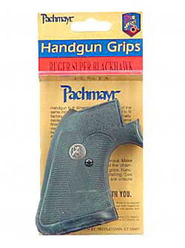 Pachmayr Presentation Revolver Grips for Ruger Super Blackhawk (New Model) Black - YST_2