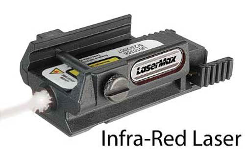 LaserMax Unimax Infrared Rail Mounted Laser 850nm Black LMS-UNI-IR