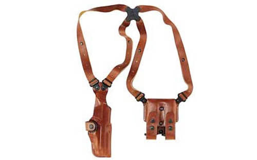 Galco Vertical Shoulder Holster System SIG and Taurus 24/7 Ambidextrous Leather