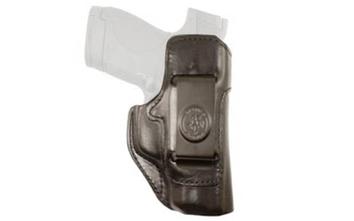 DeSantis Inside Heat Inside Waistband Holster For GLOCK 42 Right Hand Leather Bl