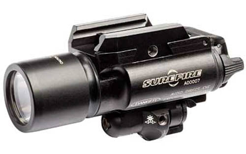 SureFire X400 Ultra LED WeaponLight and Red Laser Sight 500 Lumens Black X400U-A