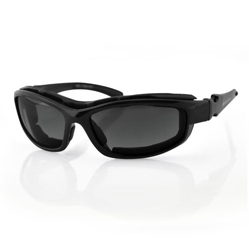 Bobster Road Hog II Convertible Black Frame 4 Lenses
