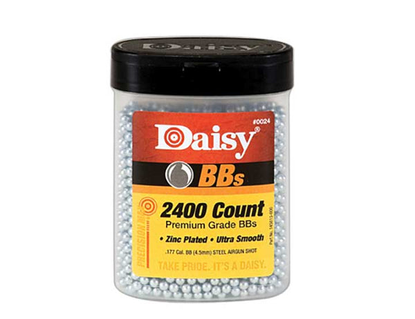 Daisy Outdoor Products 2400 ct BB Bottle Silver 4.5 mm