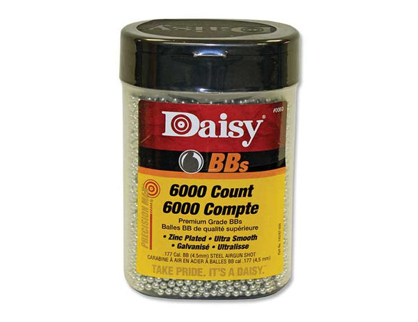 Daisy Outdoor Products 6000 ct BB Bottle Silver 4.5 mm