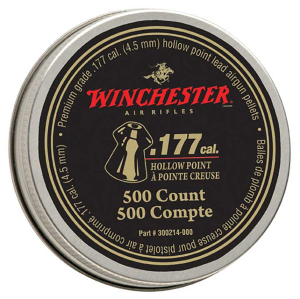 Winchester by Daisy Win 500 ct .177 Hollow Point Pellets
