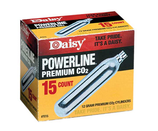 Daisy Outdoor Products 15 ct. CO2 Silver 12 gm