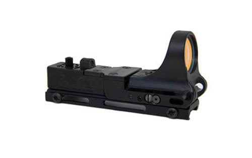 C-MORE Railway Standard Red Dot Sight 8 MOA Weaver Picatinny Mount Polymer Black