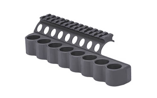 "Mesa Tactical Sureshell Shotshell Carrier With Integrated Rail 5.5"" Benelli M4 1"