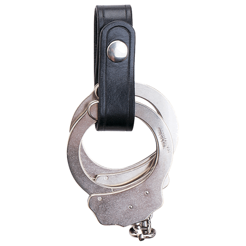 504 1  Wide Handcuff Strap Finish: Plain