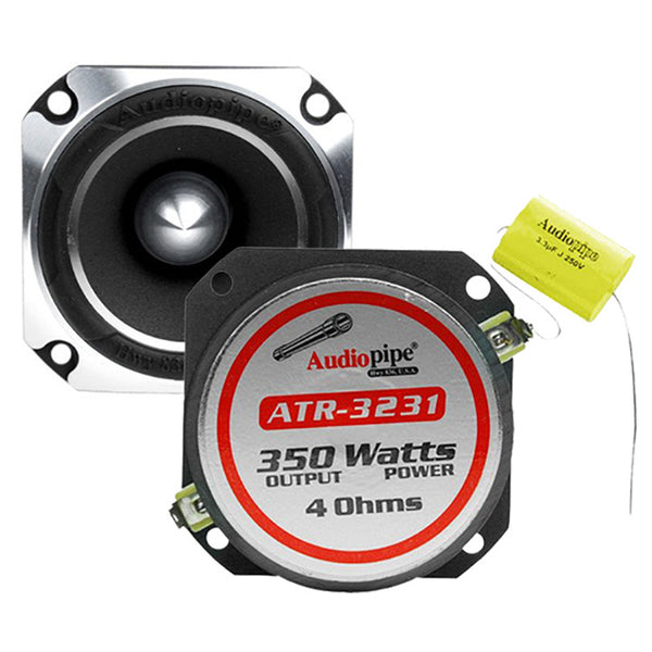 "Audiopipe 1"" Titanium Super Tweeter 350W Max Sold each"