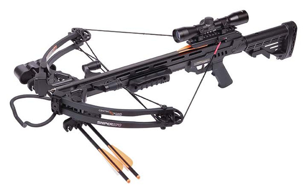 Center Point Sniper Black Compound Crossbow