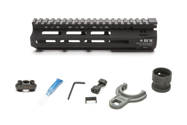 Featuring the same industry leading barrel nut and lock up design as originally introduced on BCM's evolutionary KMR handguard, the MCMR Series of handguards gives the shooter modularity in the M-LOK® platform.