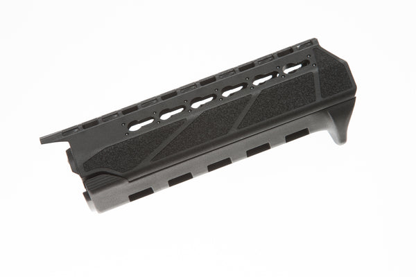 The BCMGunfighter PKMR KeyMod Rail handguard provides a secure, inexpensive, easy-to-install platform for mounting KeyMod-compatible weapon lights, laser sights, vertical grips, or other accessories.