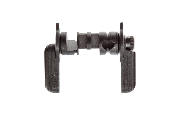 Easy to install  Compatible with Mil-Spec lower receivers  Manipulate your rifle for the right or left side