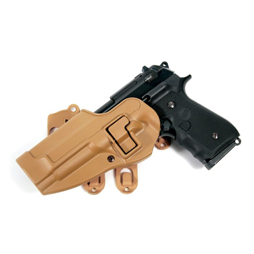 Blackhawk - Strike Platform W/ Serpa Holster Color: Coyote Tan Hand: Left