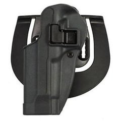 Blackhawk - Serpa Sportster Holster Finish: Gunmetal Gray Gun Fit: 1911 Government & Clones w/ or w/o rail Hand: Right