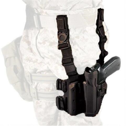 Blackhawk - Tactical Serpa Holster Finish: Plain Black Gun Fit: Glock 17 Hand: Left
