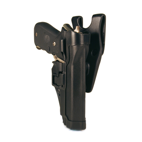 Blackhawk - Serpa Level 2 Duty Holster Finish: Matte Gun Fit: Glock 17 Hand: Left