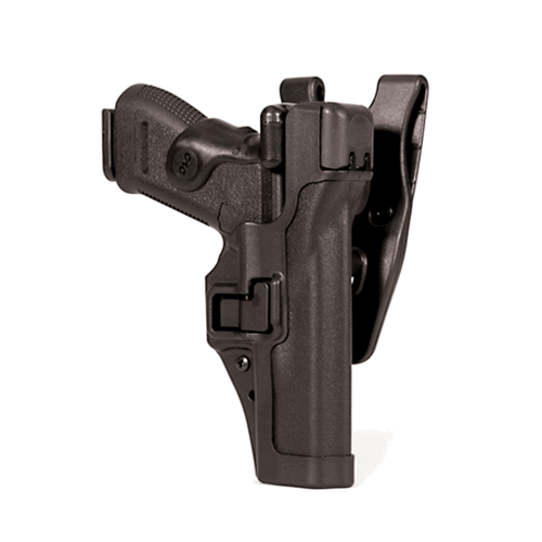 Level 3 SERPA Duty Holster Finish: Matte Gun Fit: Glock 17 Hand: Left