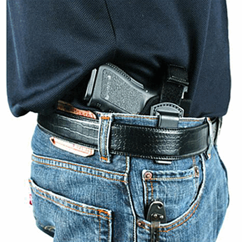 Blackhawk - Inside The Pants Holster W/ Strap Gun Fit: Small to Medium Double Action Revolver (2 bbl) (Except 5-Shot) Hand: Right