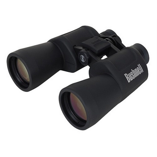 Bushnell - Powerview Porro Prism Binoculars Color: Black Magnification: 10X50 Packaging: Box