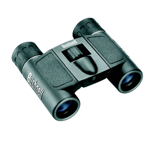 Bushnell - Powerview Roof Prism Binoculars Color: Black Magnification: 8X21 Packaging: Box