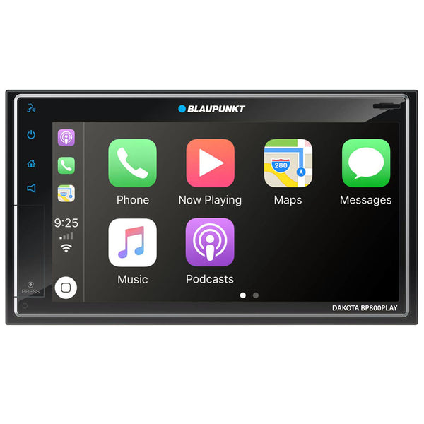 "Blaupunkt Dakota 6.8"" Touch Screen In-Dash Mechless Receiver-Android Auto/Apple Carplay"