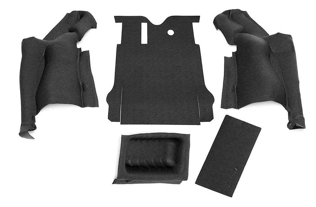 BEDRUG JEEP BEDTRED 11-17 JK 2DR REAR 5PC CARGO KIT (INCLUDES TAILGATE & TUB LINER)
