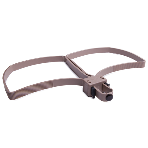 UZI Flex Cuffs Foldable Color: Tan