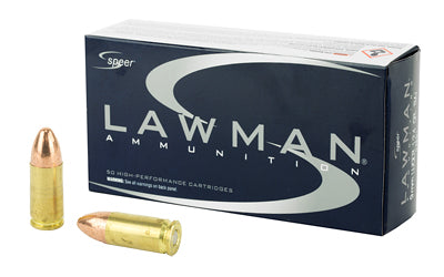 SPR LAWMAN 9MM 124GR TMJ 50/1000