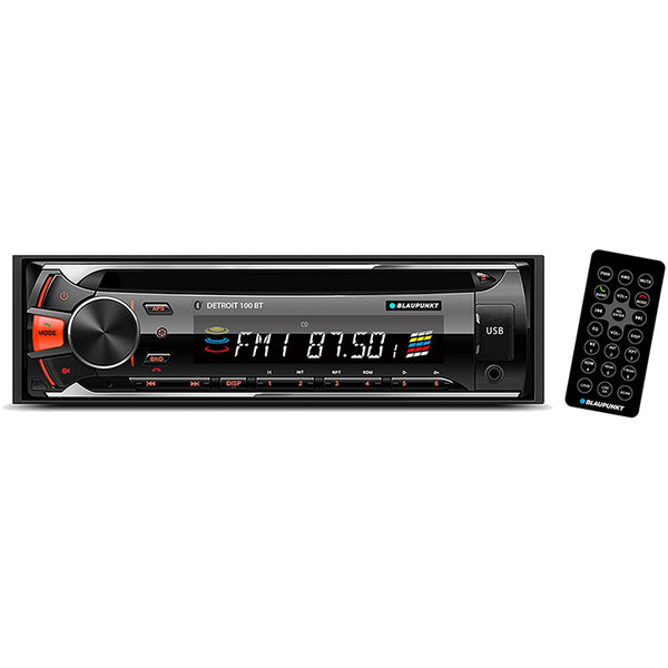 Blaupunkt single din CD/MP3 receiver with Bluetooth