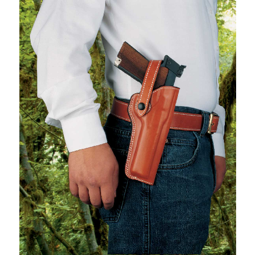 The Woodsman Belt Holster Gun Fit: Browning Buckmark (5.5  bbl) Hand: Right Color: Black
