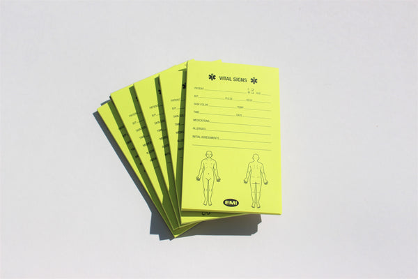 Vital Signs Notepad Pack
