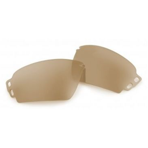 These high-impact, 2.2mm polycarbonate Polarized Mirrored Blue accessory lenses fit the ESS Crowbar sunglass.