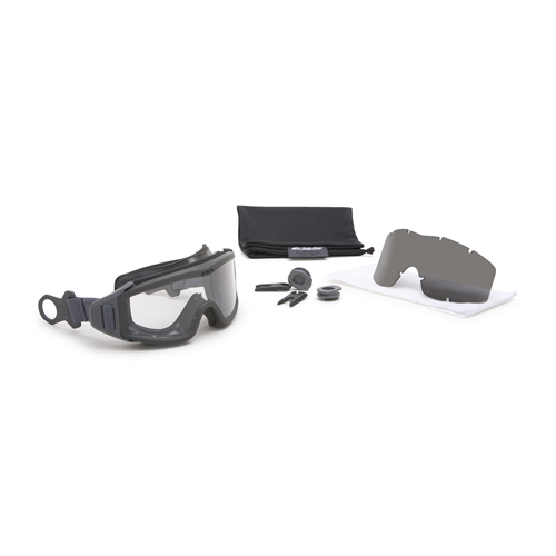 Complete kit of Profile Pivot helmet-mounted goggle system for attaching ESS Profile